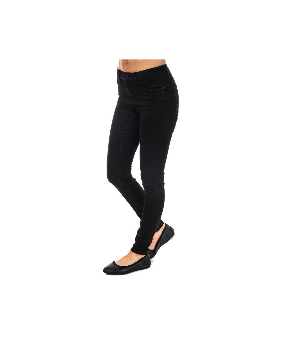 Image for Women's Vero Moda Seven Shape Up Skinny Jeans in Black
