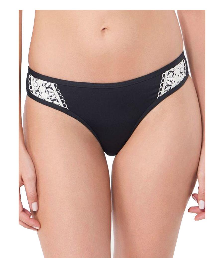 Image for Elegant Twist Mini Bikini Brief