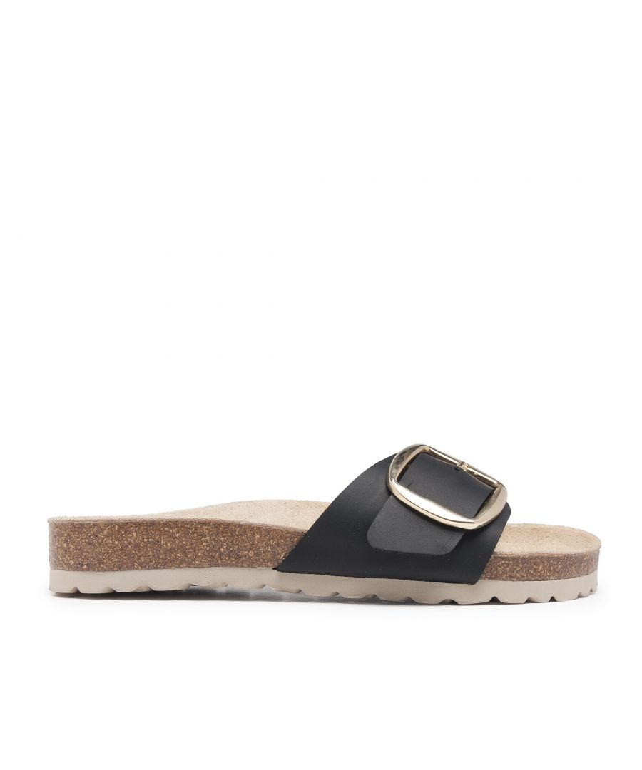 Image for Bio Sandals Woman Black Sandals Maria Barcelo