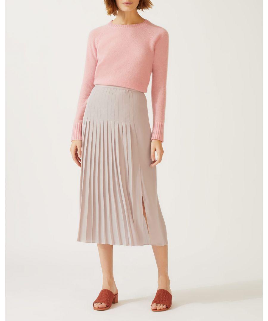 Image for Pleat Midi Skirt