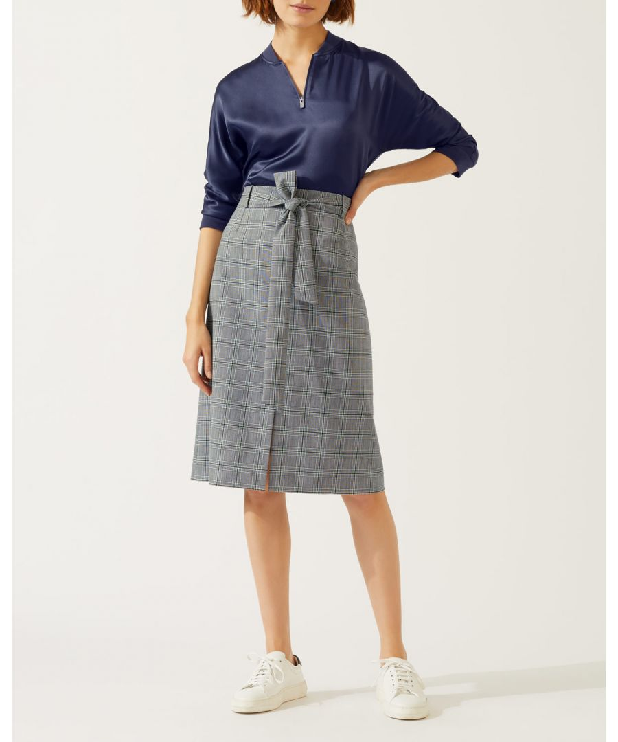 Image for Mono Check Skirt