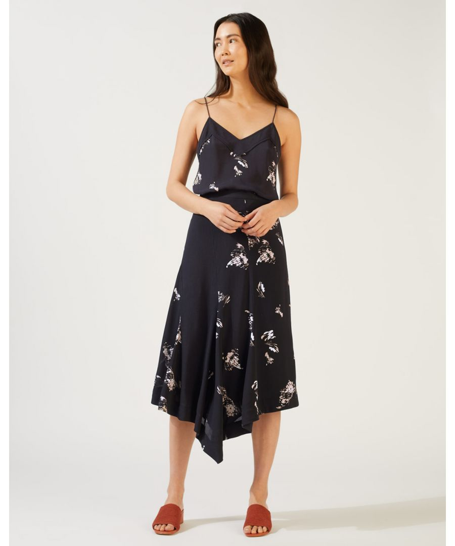 Image for Petal Fragments Midi Skirt