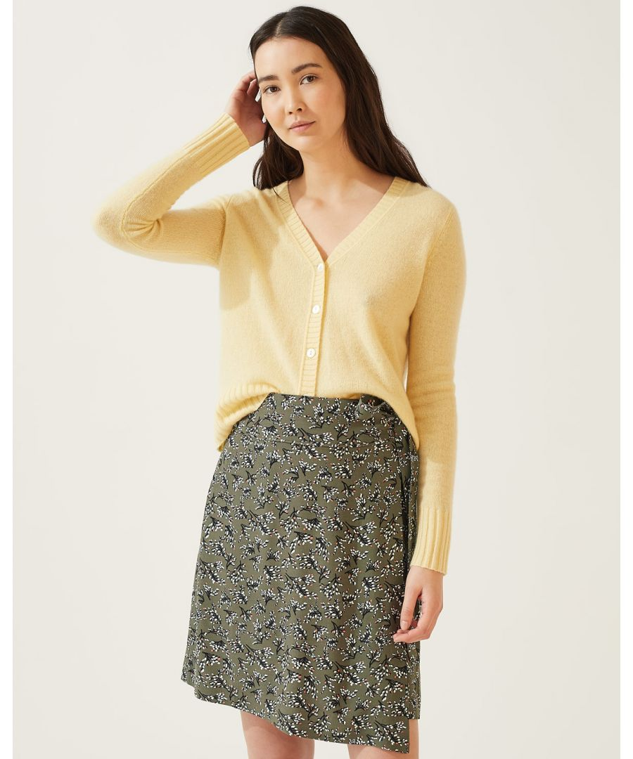 Image for Sophelia Wrap Mini Skirt