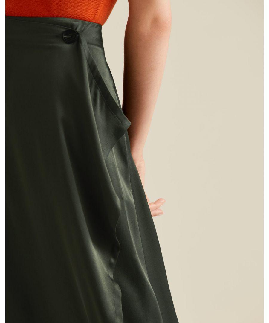 Image for Waterfall Midi Skirt