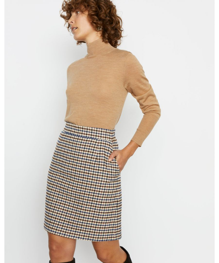 Image for Heritage Check Mini Skirt