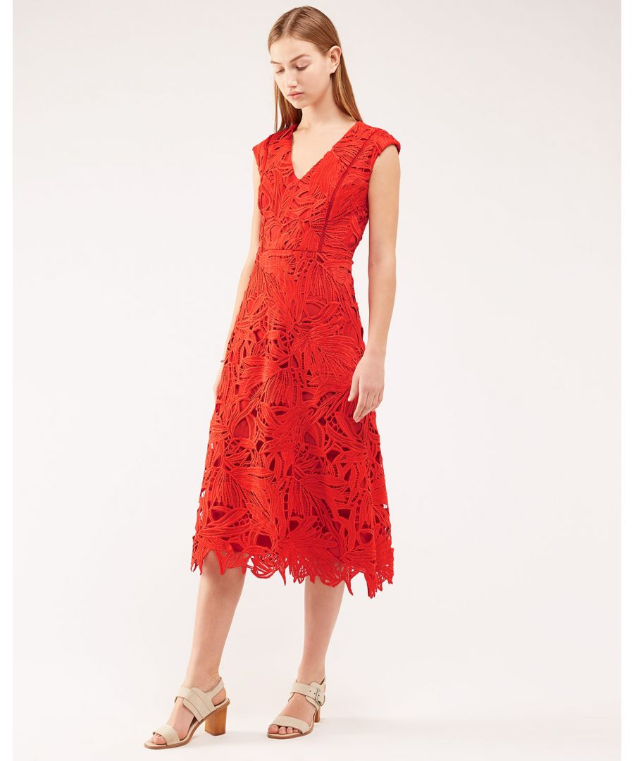 Image for Leaf Lace Dress