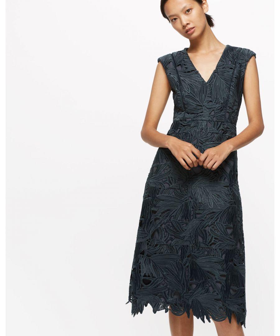 Image for Leaf Lace Dress