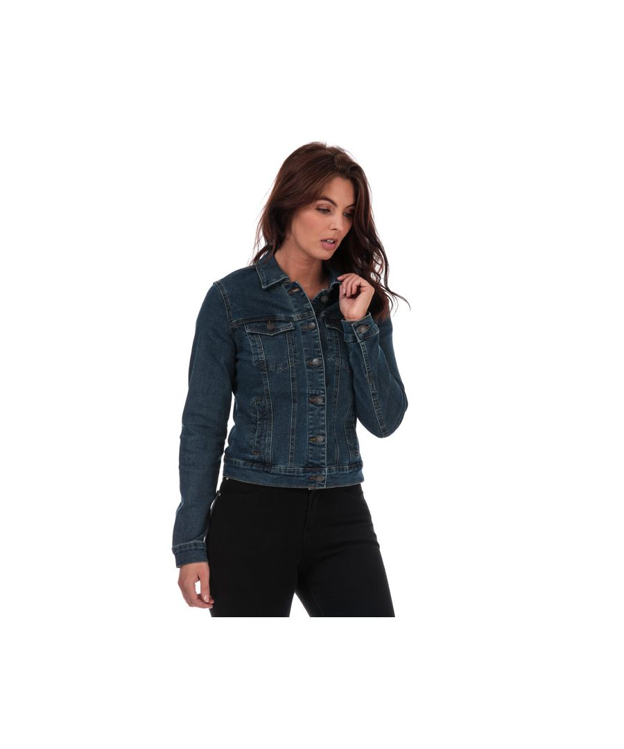 Image for Women's Vero Moda Hot Soya Denim Jacket in Denim