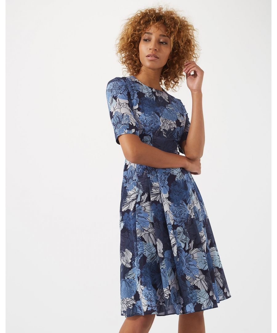Image for Camo Floral Dress