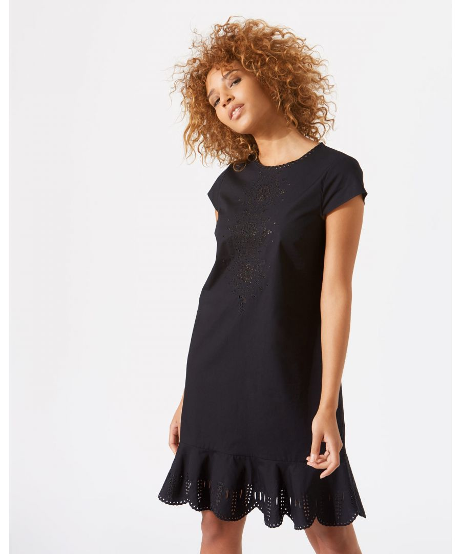Image for Cotton Broderie Dress