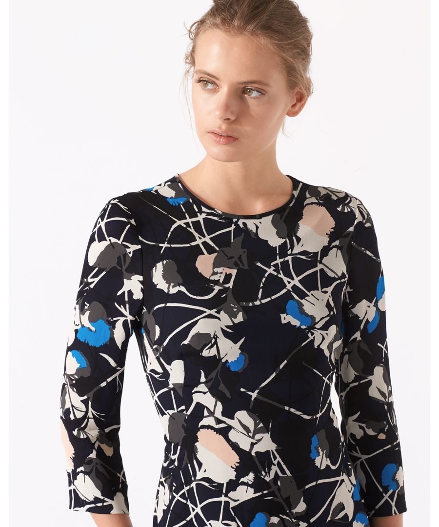 Image for Floral Thistle Iris Dress