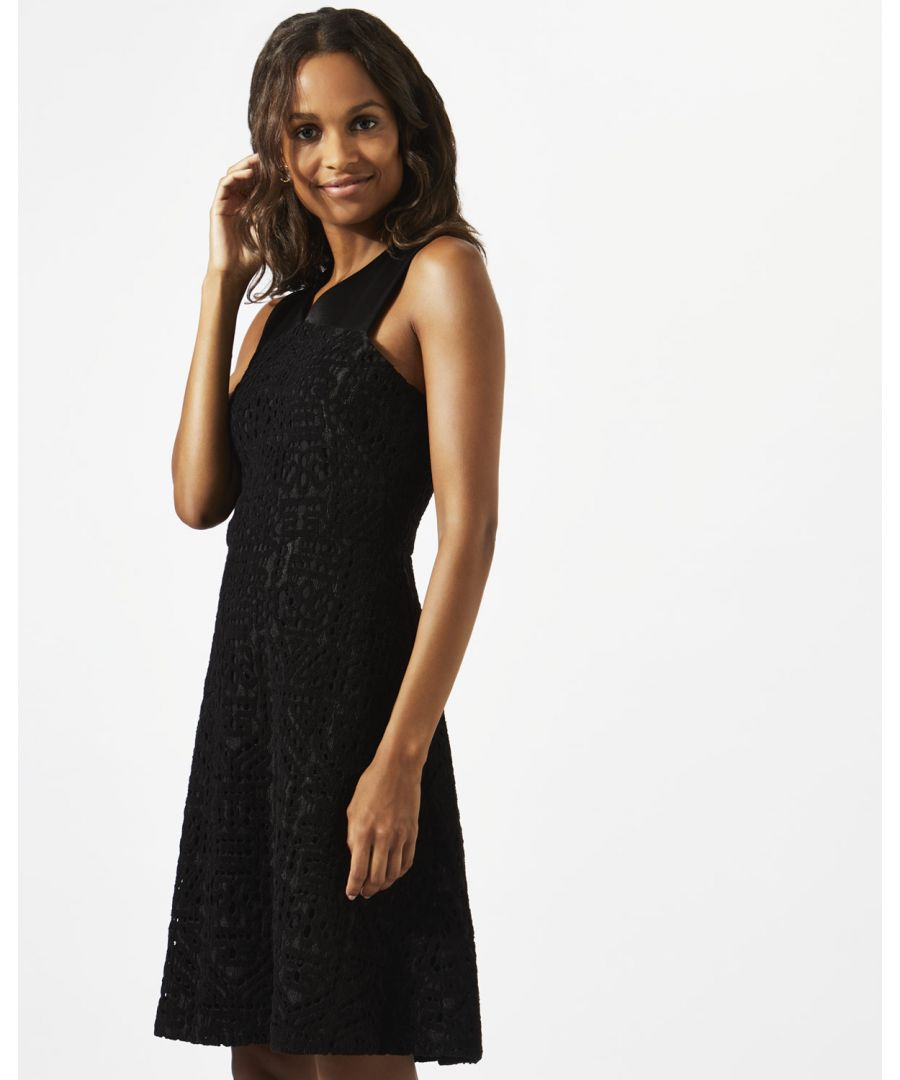 Image for Velvet Lace Dress