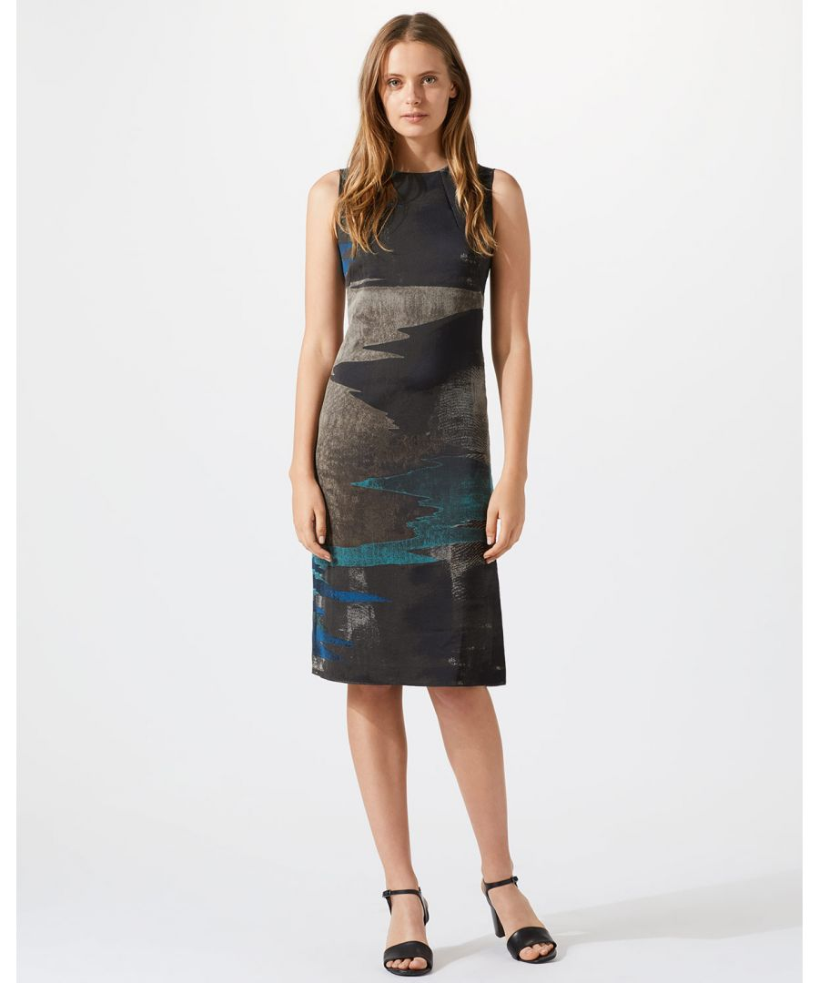 Image for Ocean Tide Jacquard Dress