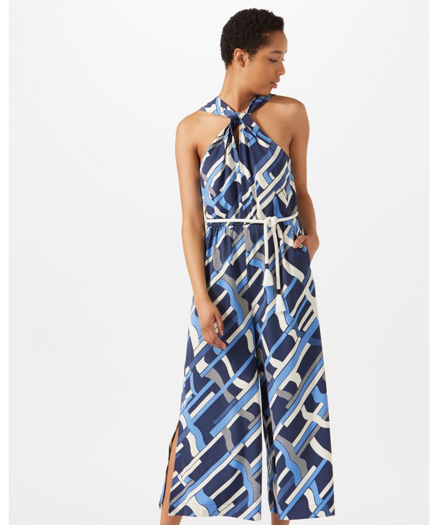 Image for Graphic Weave Jumpsuit