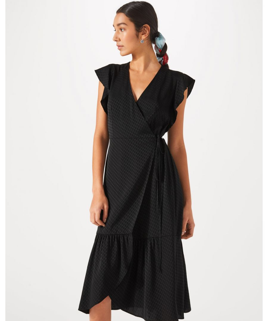 Image for Wrap Frill Dress