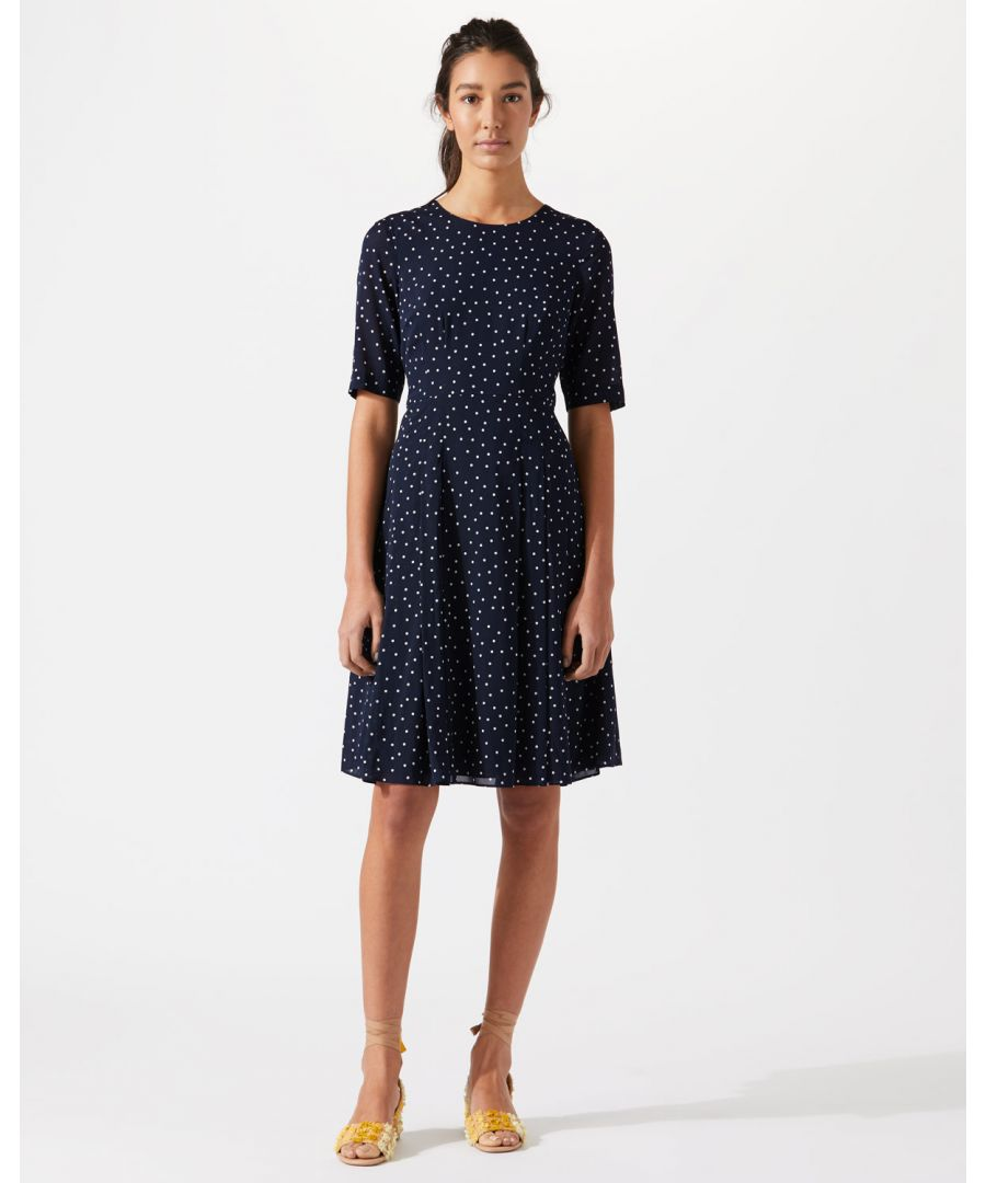 Image for Spot Fit And Flare Dress