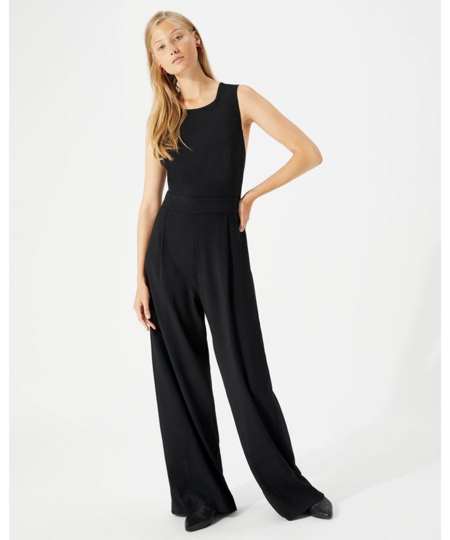 Image for Cross Back Jumpsuit