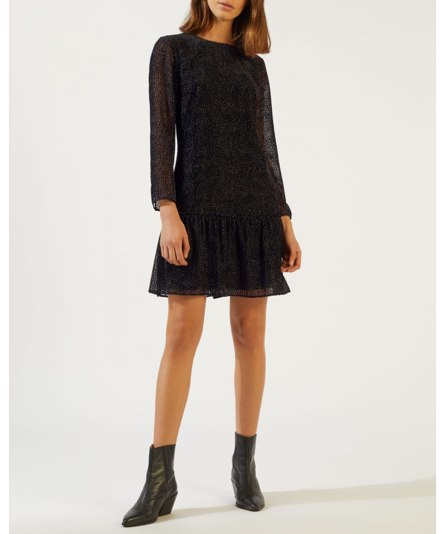 Image for Velvet Devore Flippy Hem Dress
