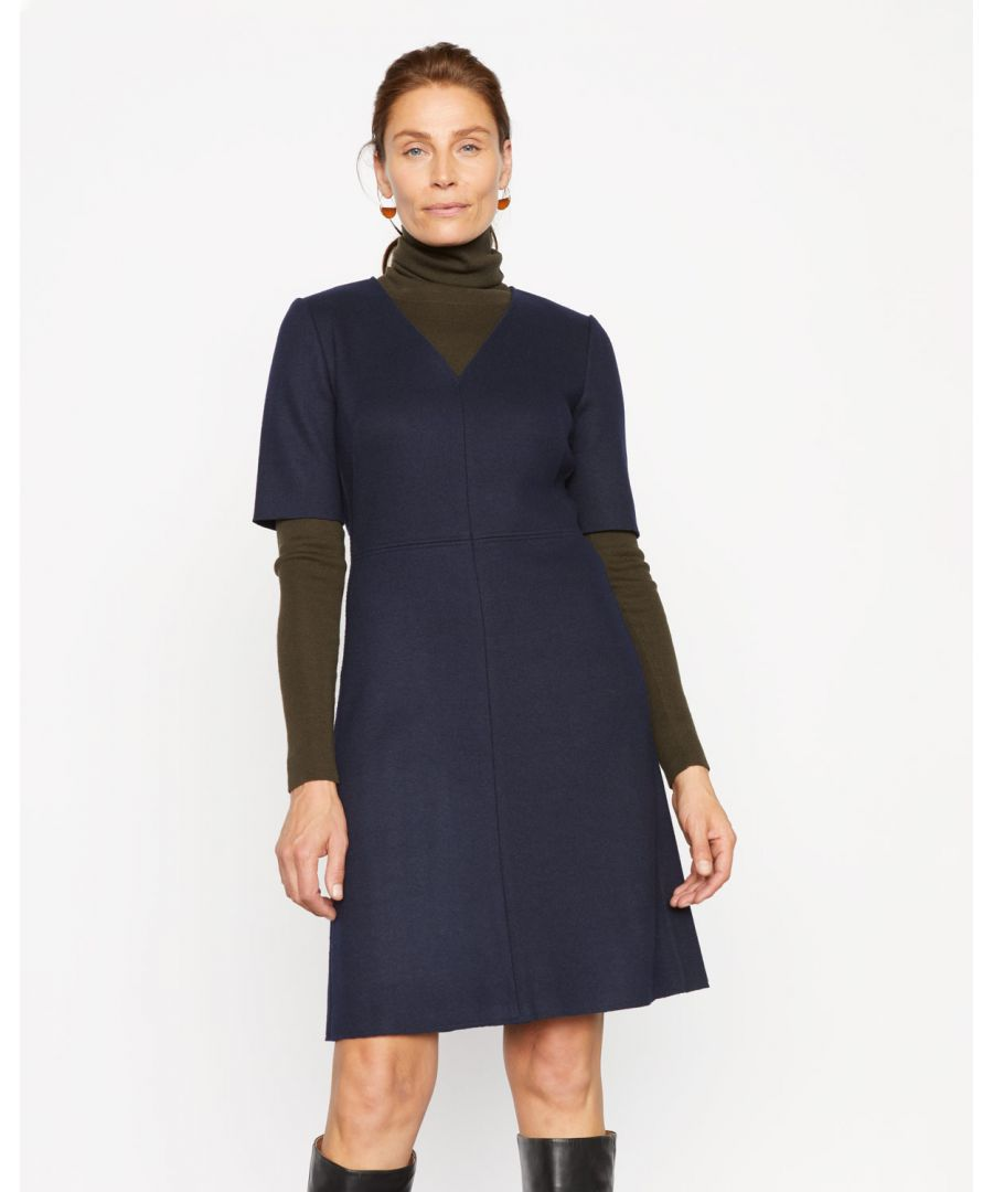 Image for Wool Shift Dress