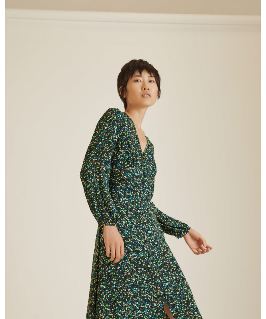 Image for Modern Ditsy Tea Dress
