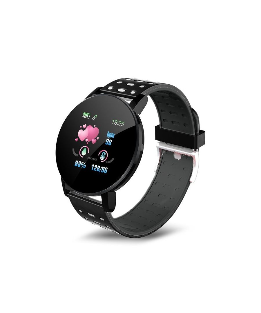 Image for LKS IP67 Multi-function Unisex Bluetooth Smart Watch for Android / IOS, Black