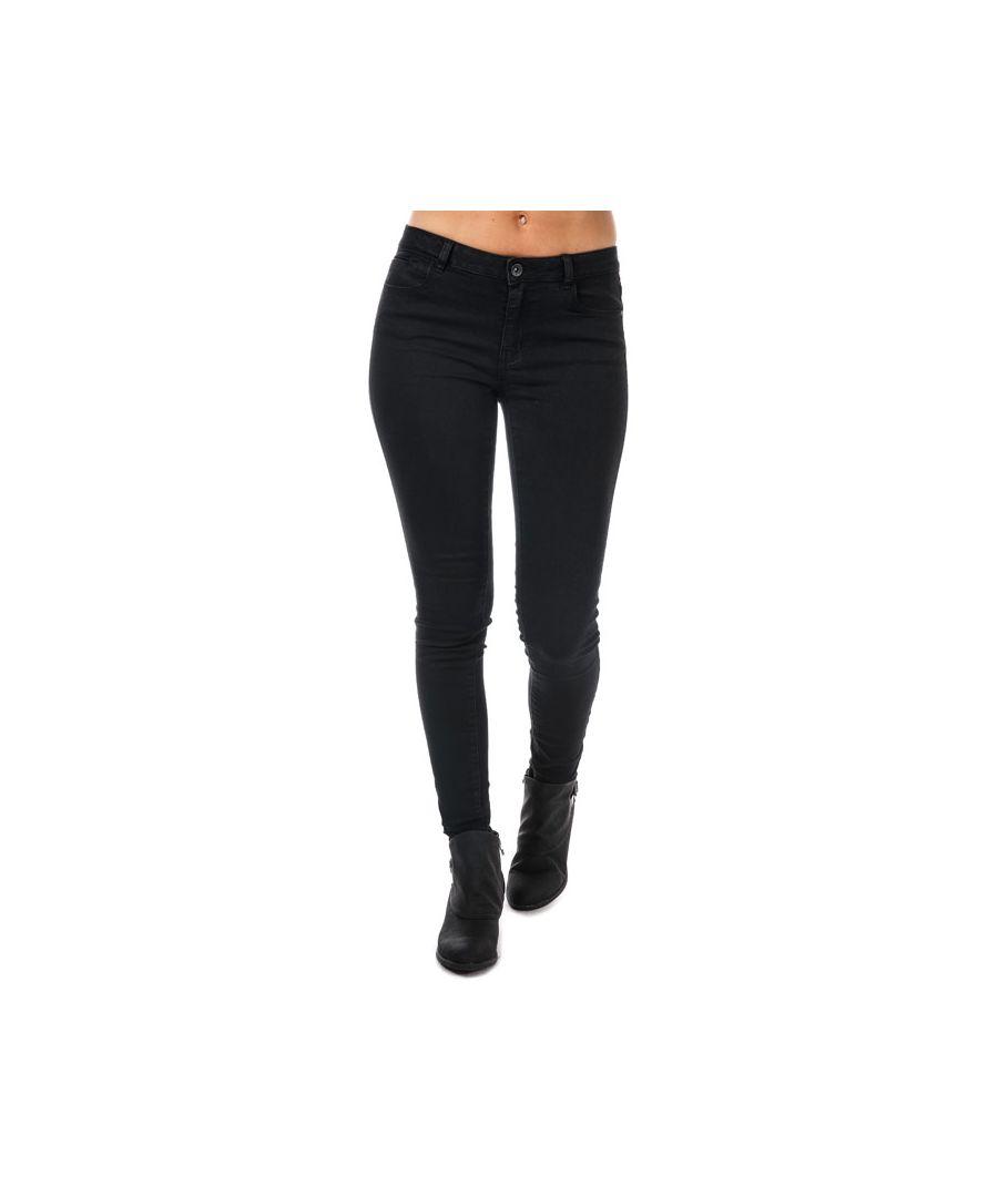 Image for Women's Vero Moda Julia Flex It Slim Jeggings in Black