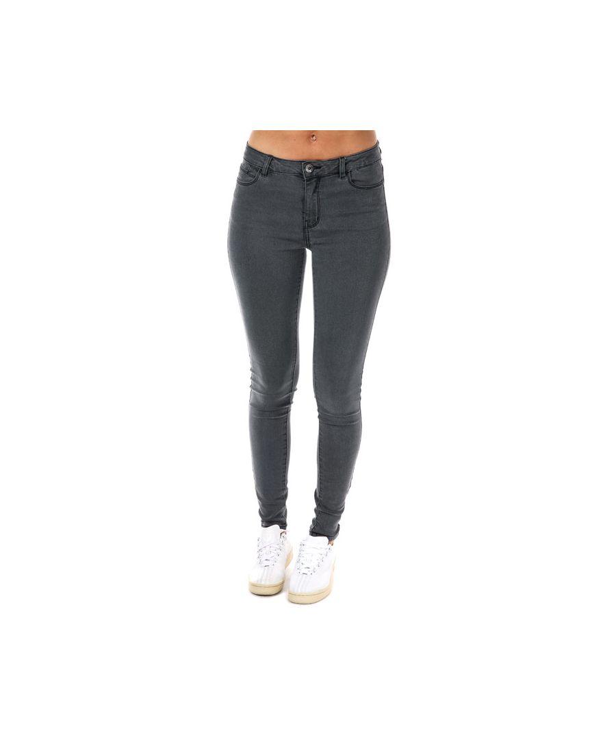 Image for Women's Vero Moda Julia Flex It Slim Jeggings in Grey