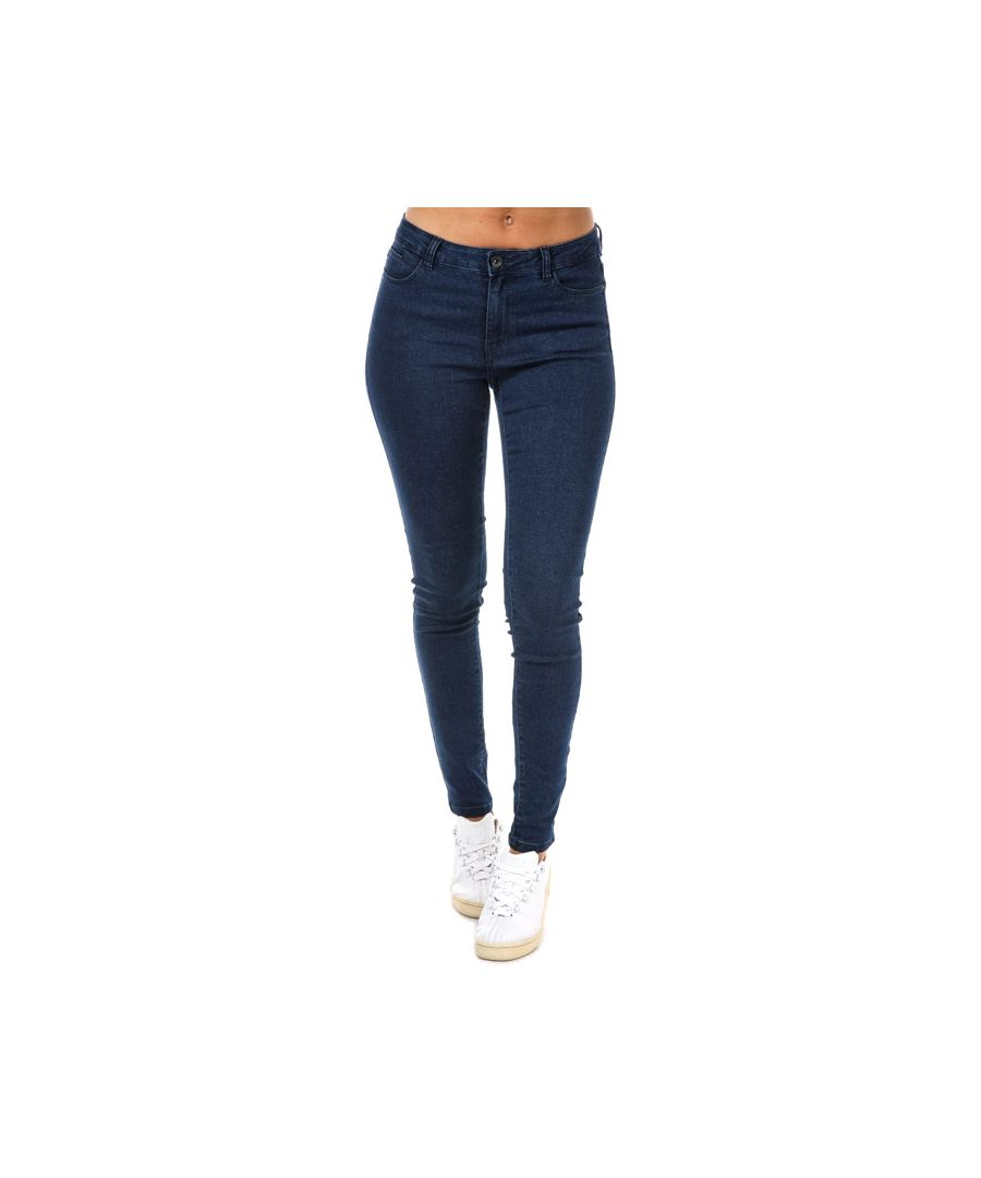 Image for Women's Vero Moda Julia Flex It Slim Jeggings in Dark Blue