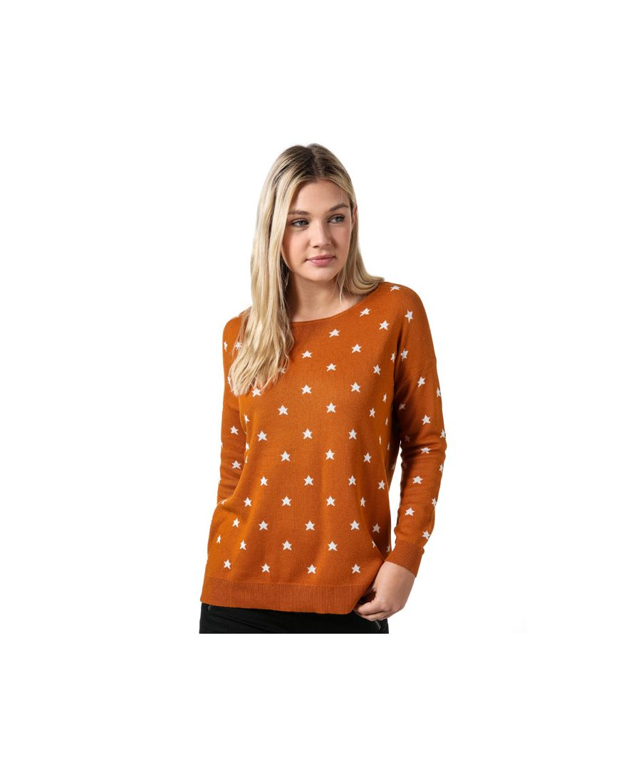 Image for Women's Vero Moda Dotty Oversize Jumper in Mustard