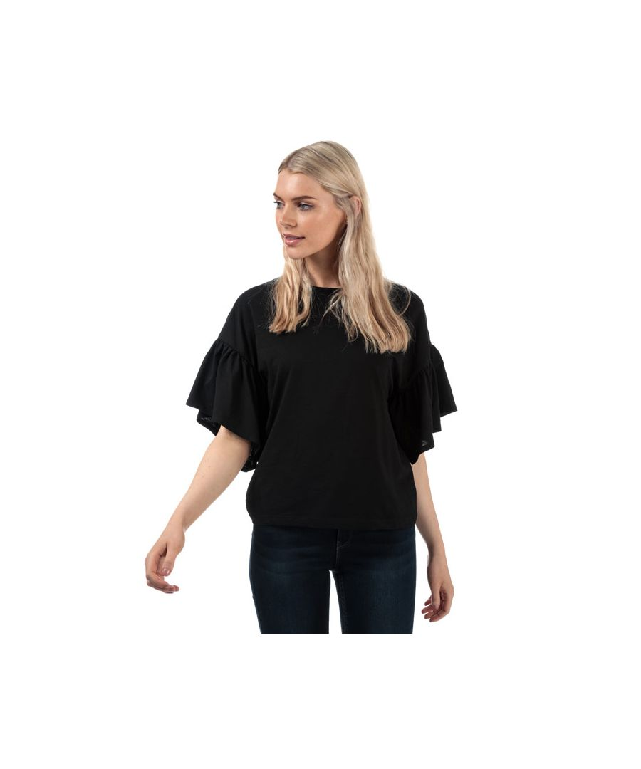 Image for Women's Vero Moda Rebecca Jersey Top in Black