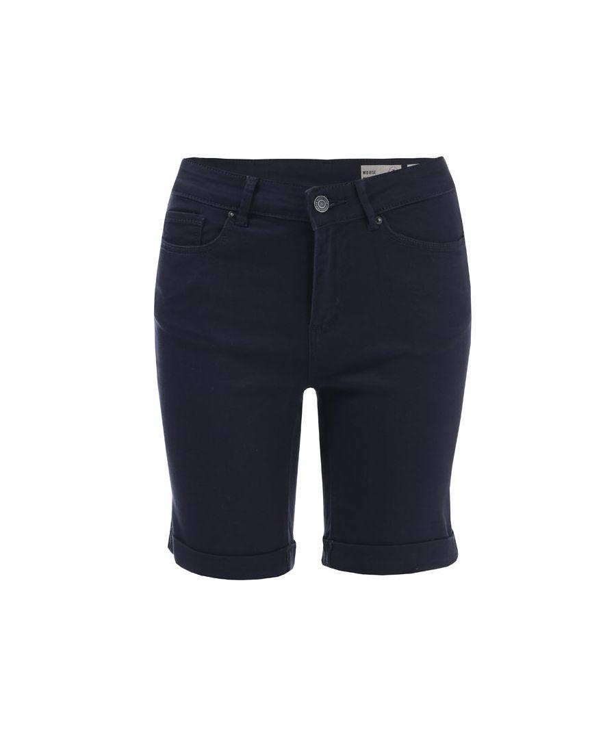 Image for Women's Vero Moda Hot Seven Long Shorts in Navy