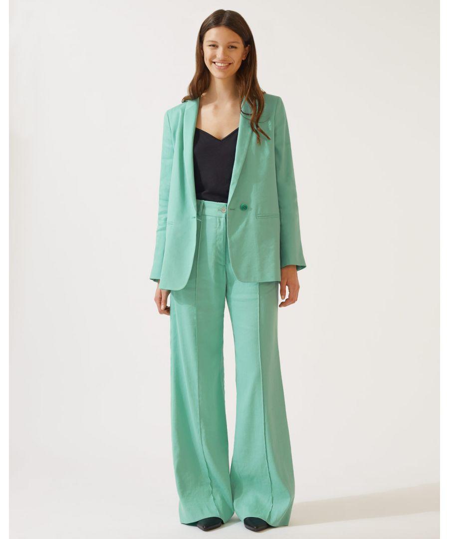 Image for Portofino Linen Long Blazer