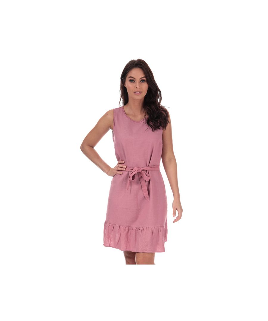 Image for Women's Vero Moda Anna Milo Sleeveless Dress in Dusky Pink