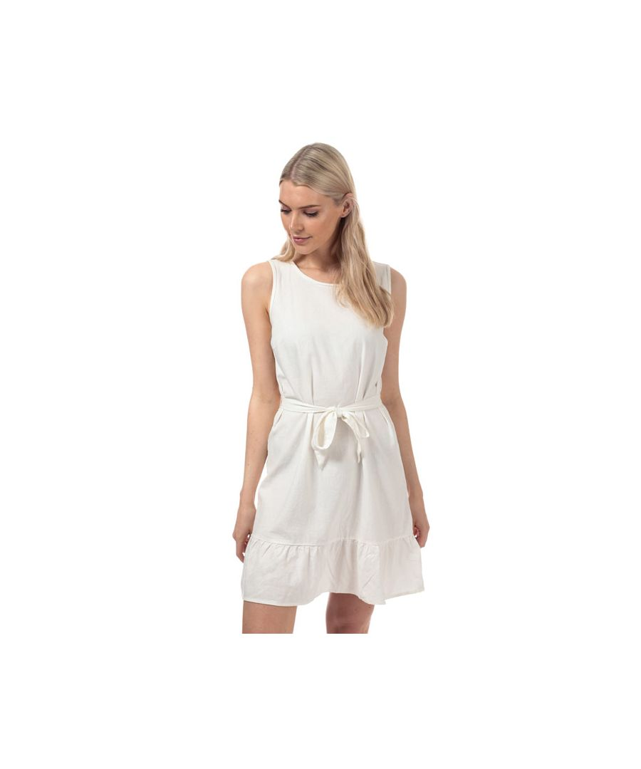 Image for Women's Vero Moda Anna Milo Sleeveless Dress in White