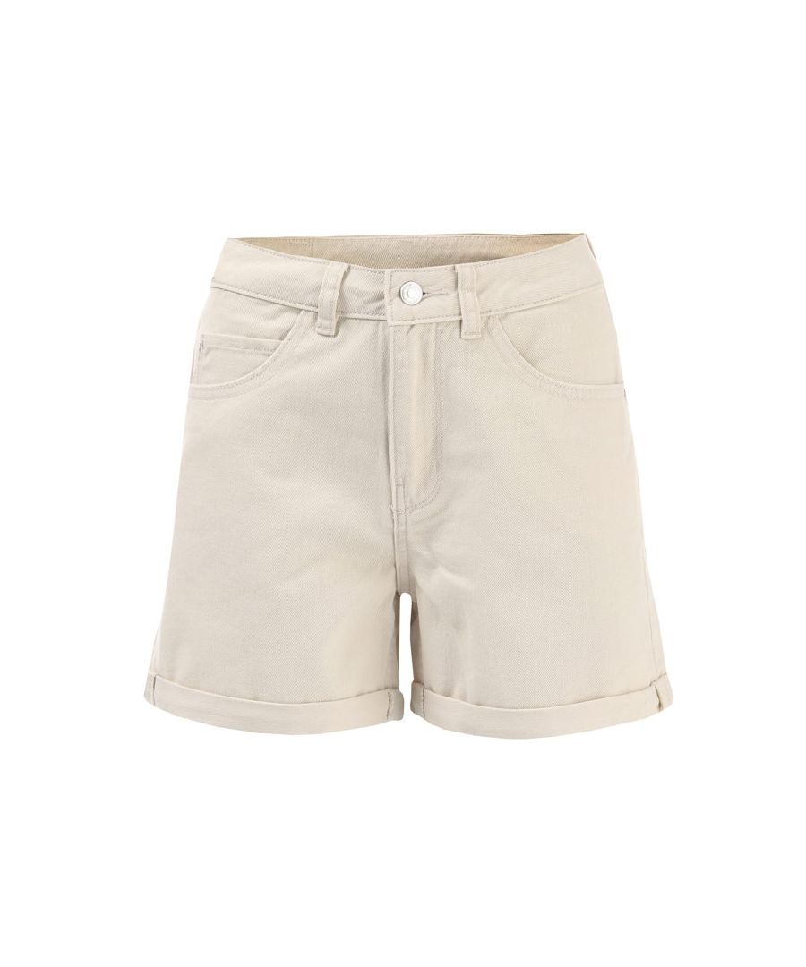 Image for Women's Vero Moda Nineteen High Rise Loose Shorts in Natural