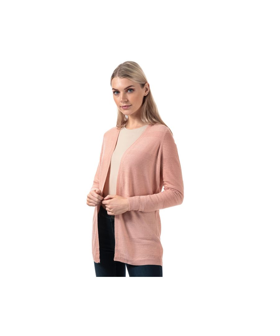Image for Women's Vero Moda Bobbie Open Cardigan in Rose
