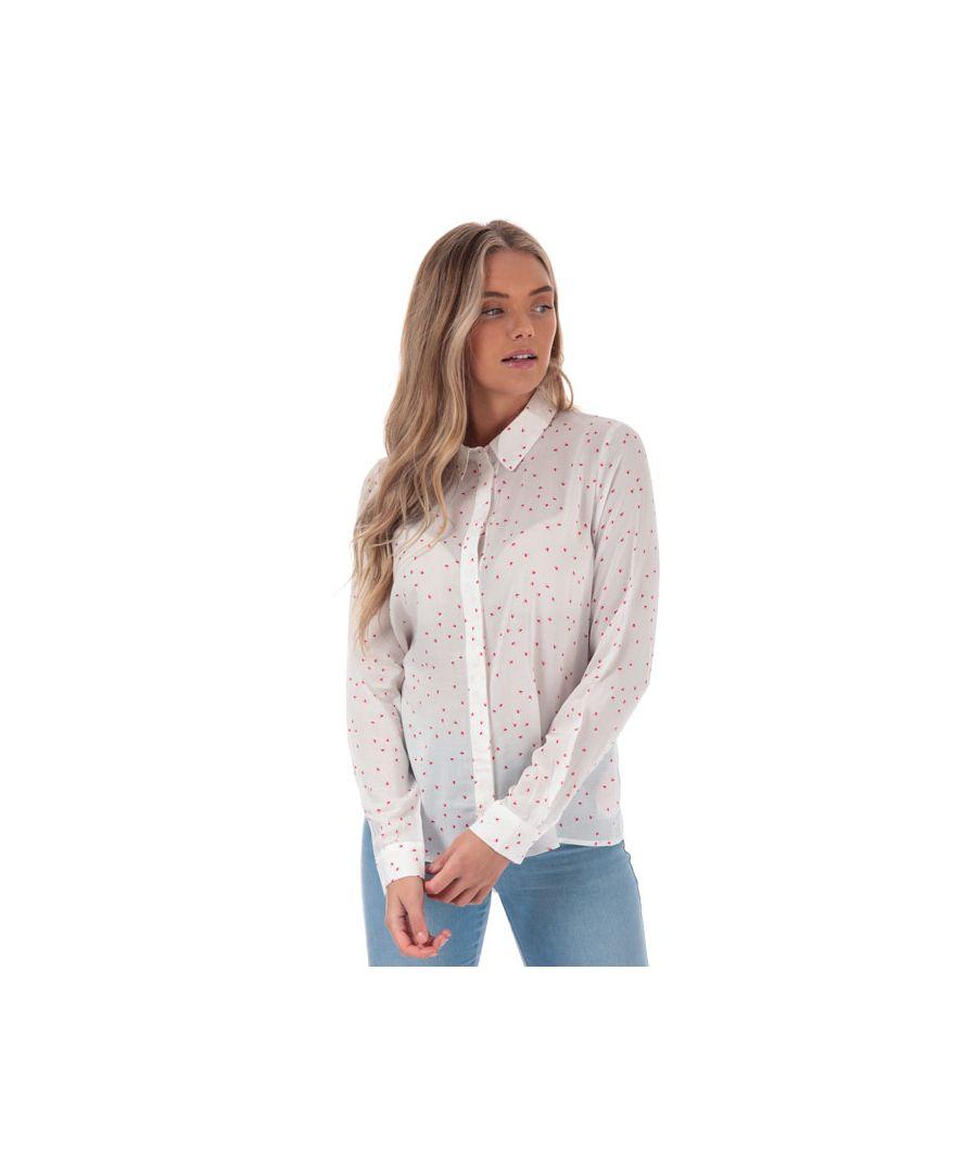Image for Women's Vero Moda Maya Effie Shirt in White
