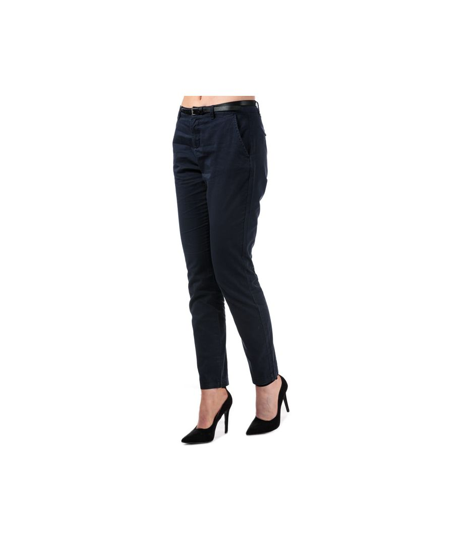 Image for Women's Vero Moda Flash Mid Rise Chino Pants in Navy