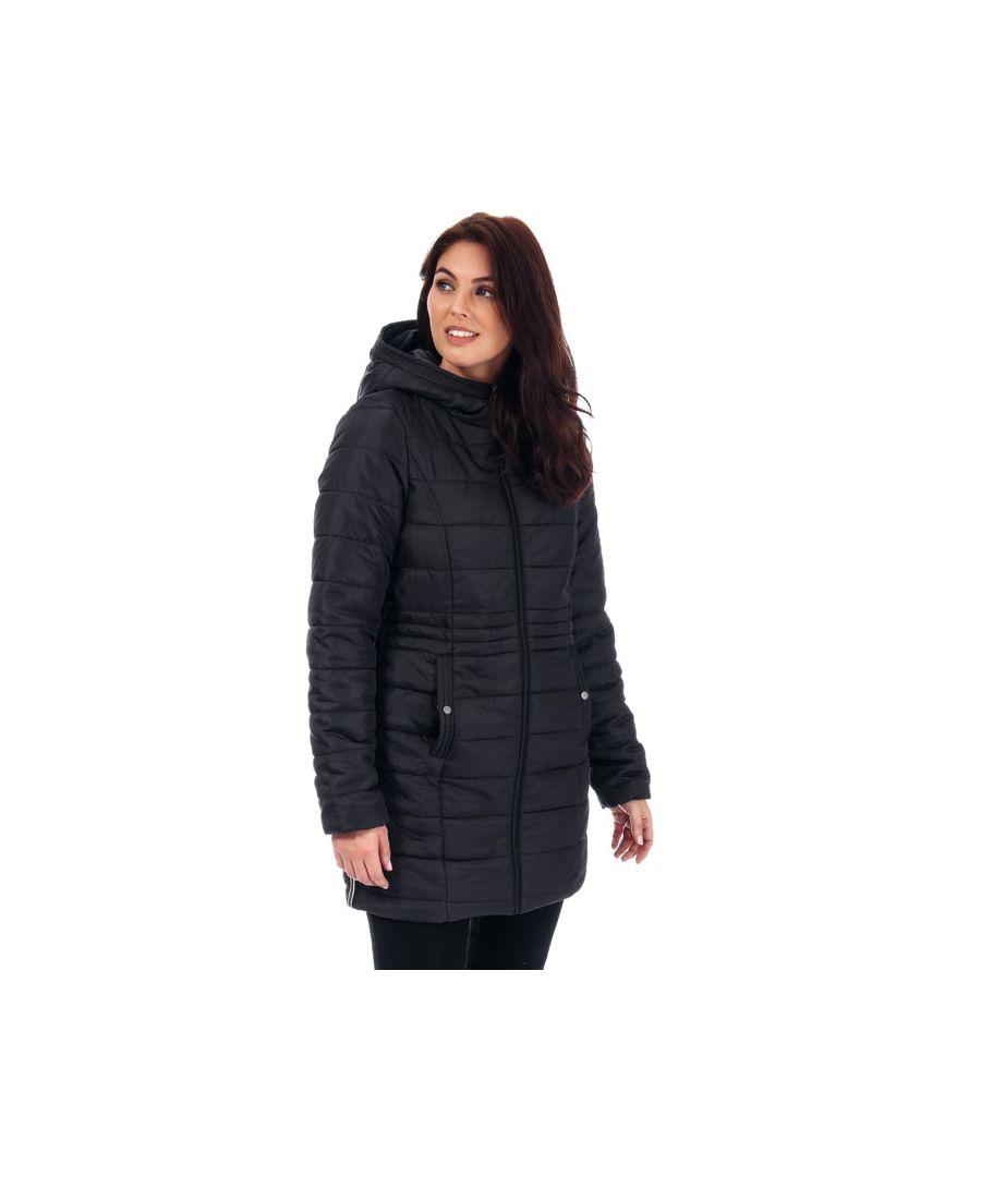 Image for Women's Vero Moda Simone Hooded Jacket in Black