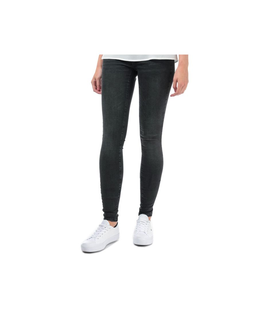 Image for Women's Vero Moda Lux Super Slim Skinny Jeans in Black