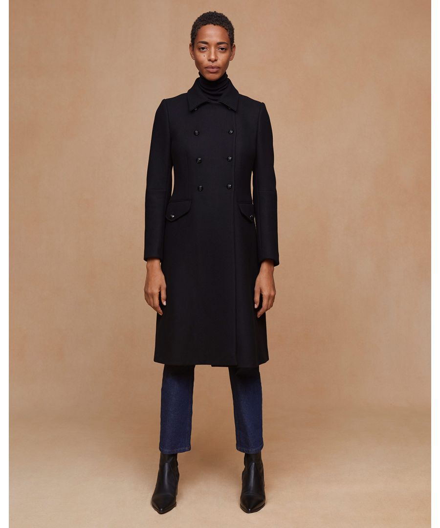 Image for Modern Wool Military Coat
