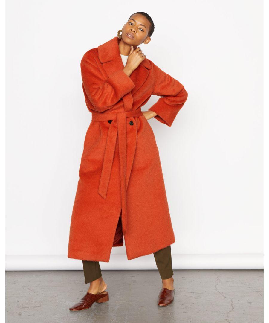 Image for Drape Collar Coat