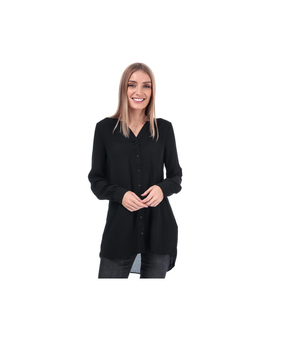 Image for Women's Vero Moda Isabella Loose Fit Blouse in Black