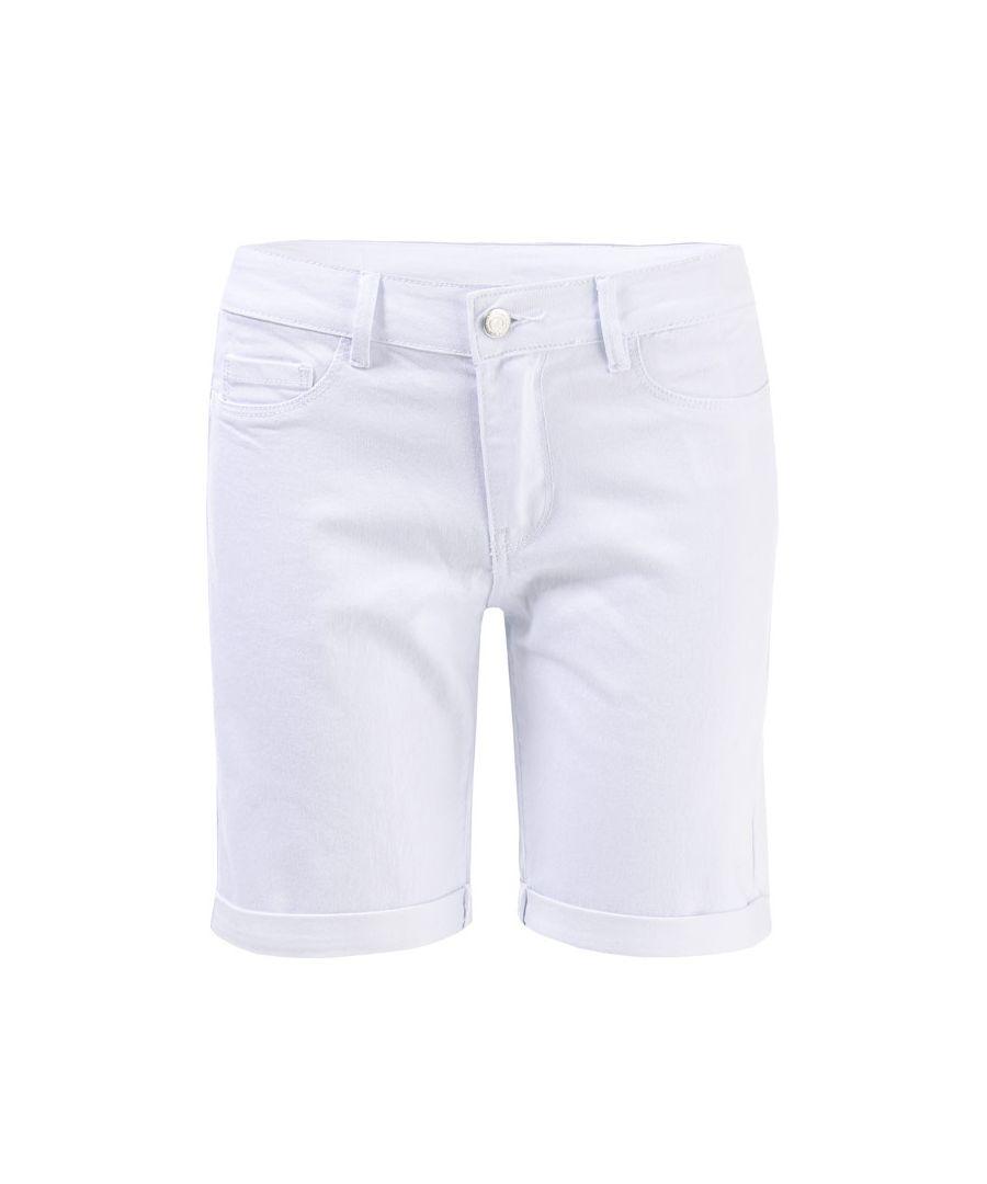 Image for Women's Vero Moda Hot Seven Long Shorts in White