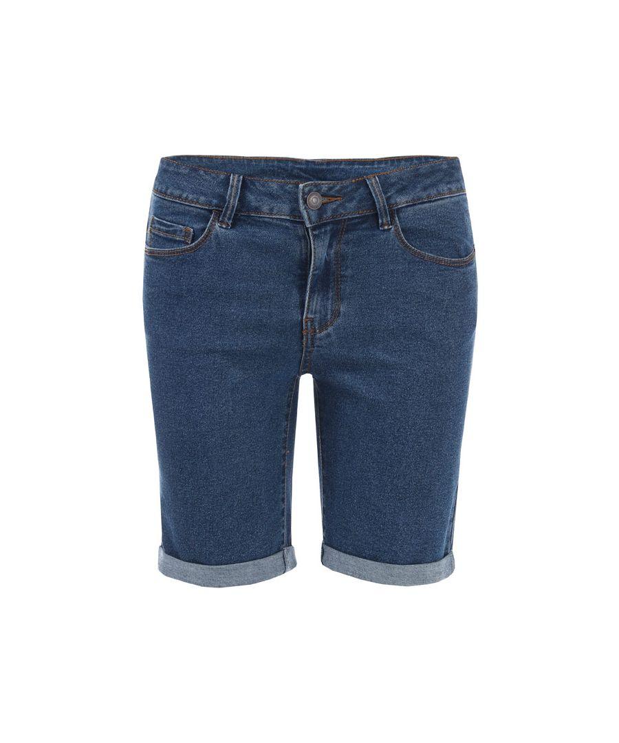 Image for Women's Vero Moda Hot Seven Long Shorts in Denim