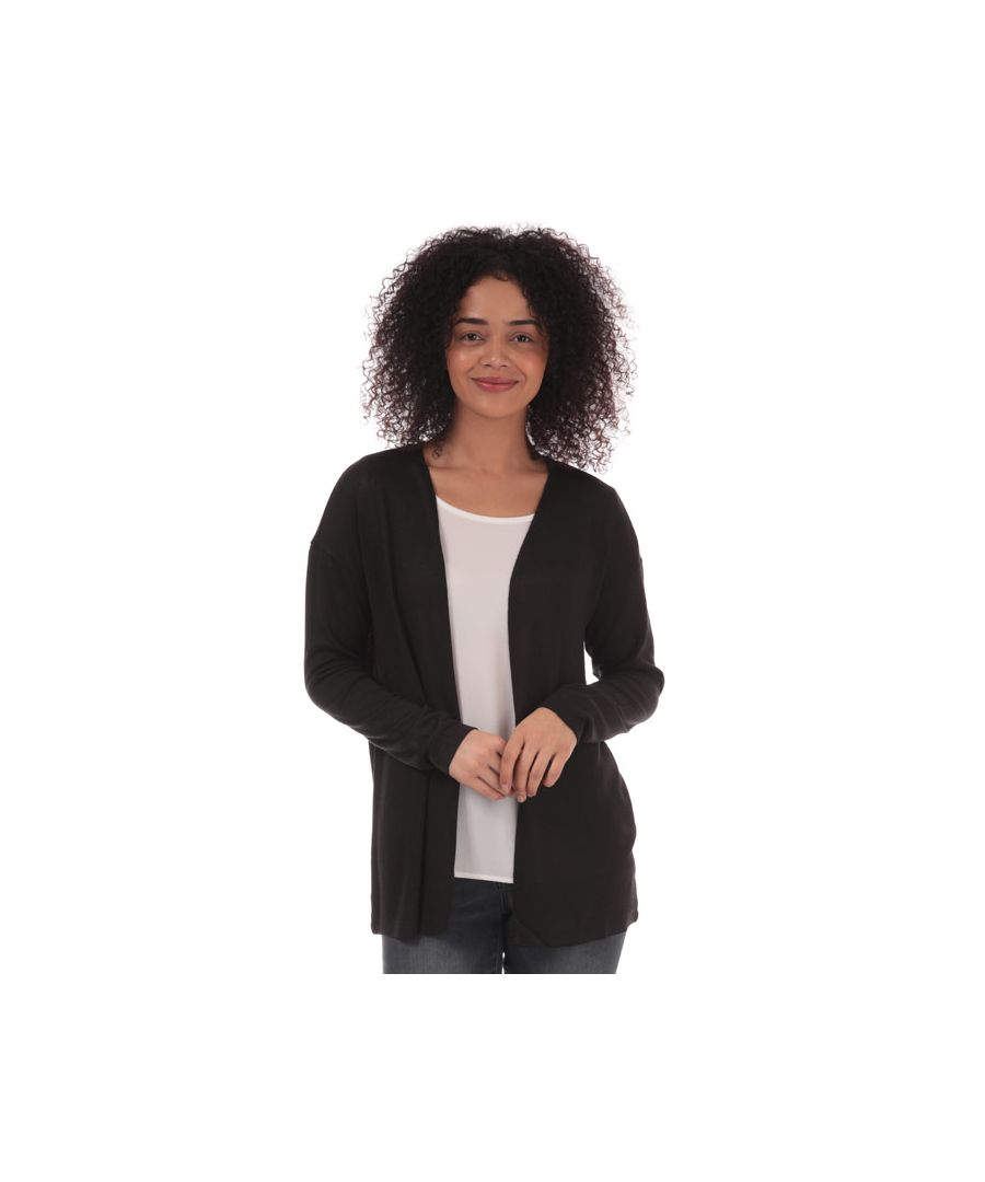 Image for Women's Vero Moda Brianna Open Cardigan in Black
