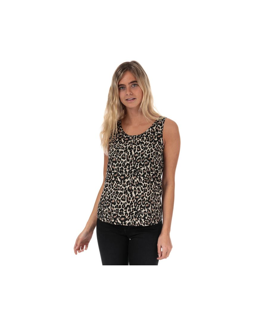 Image for Women's Vero Moda Simply Easy Linea Sleeveless Top in Oatmeal