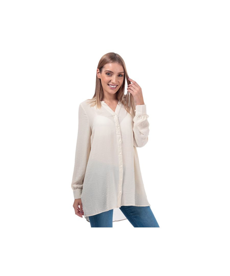 Image for Women's Vero Moda Isabella Loose Fit Blouse in Natural