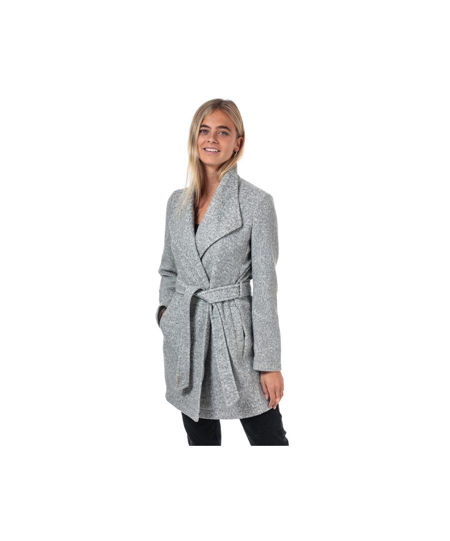 Image for Women's Vero Moda Brushed Dora Jacket in Light Grey