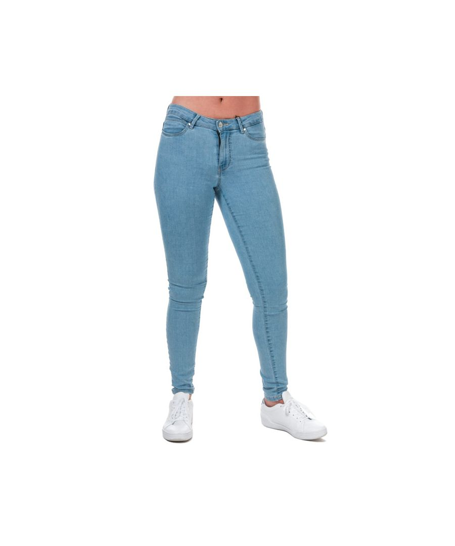 Image for Women's Vero Moda Judy Mid Rise Slim Jeggings Light Blue 6Sin Light Blue